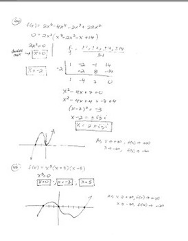 Polynomials and Polynomial Functions – Review