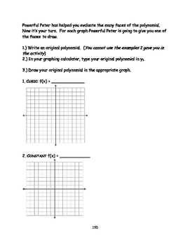 Polynomials with Precious Patty