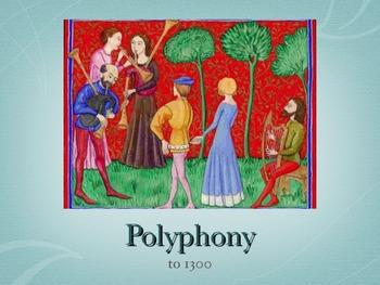 Polyphony to 1300 Music Presentation - PDF Version