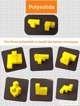 Polysolids activity cards