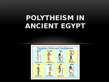 Polytheism in Ancient Egypt