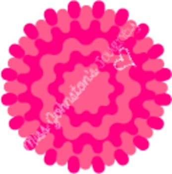 Pom Flower Accents- clipart