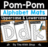 Pom Pom Alphabet Mats A-Z | First Day of School Activities | Back to School