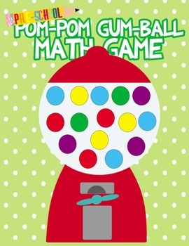 Pom Pom Bubble Gum Math game