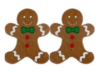 Pom Pom Gingerbread Man