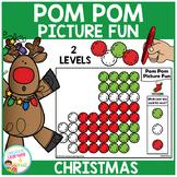 Pom Pom Picture Fun - Christmas