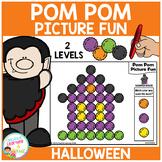 Pom Pom Picture Fun - Halloween