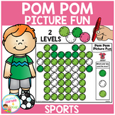 Pom Pom Picture Fun - Sports