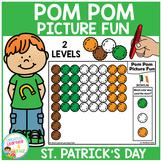 Pom Pom Picture Fun - St. Patrick's Day