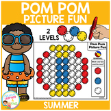 Pom Pom Picture Fun - Summer