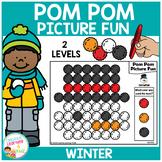 Pom Pom Picture Fun - Winter