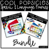 Popsicle Bundle: NO PREP Speech & Language Frames