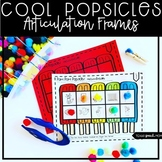 Popsicles Speech and Language Therapy: NO PREP Articulation Frames