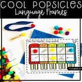 Popsicles Speech and Language Therapy: NO PREP Language Frames