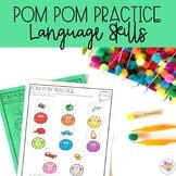 Pom Pom Practice: Language Skills