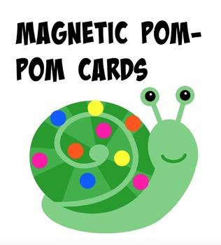 Pom Pom Quiet Time Activity Cards