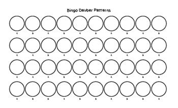 Pom Pom and Bingo Dauber Patterns