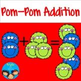 Pom-Pom fun with Addition!