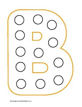 Pom Poms andButtons Alphabet Cards