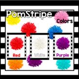 Pom Stripe Color Posters