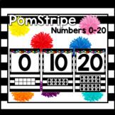 Pom Stripe Numbers 0-20