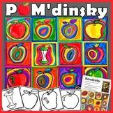 Pom'dinsky : à la manière de Kandinsky - arts plastiques