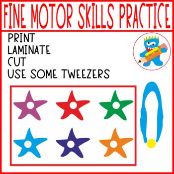 Pom poms Mats. Fine Motor Skills Fun. Summer edition