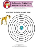 Pomodoro Penguin Worksheet Wednesday No. 2: Amazing Maze
