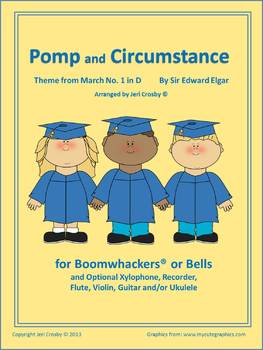 Pomp & Circumstance Arranged for Bells or Boomwhackers