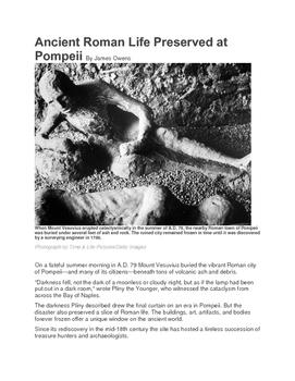 Pompeii Close Reading