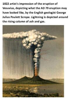 Pompeii - Eruption of Mount Vesuvius in 79 AD Handout