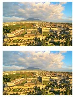 Pompeii - Eruption of Mount Vesuvius in 79 AD Word Search