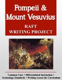 Pompeii and Mount Vesuvius RAFT Writing Project