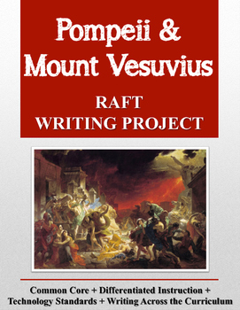 Pompeii and Mount Vesuvius RAFT Writing Project