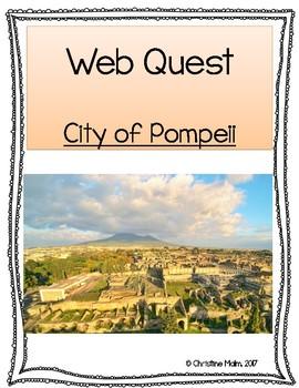 Pompeii WebQuest