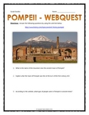 Pompeii - Webquest with Key (History.com)