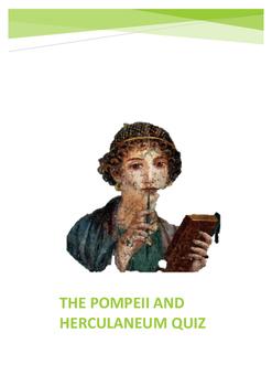 Pompeii and Herculaneum Quiz