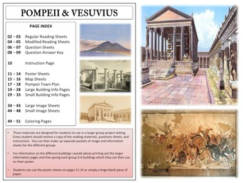 Pompeii and Vesuvius - Mini Unit