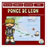 Early Explorers - Ponce de Leon Unit with Articles, Activities, & Flip Book