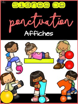 Ponctuation - Affiches