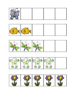 Pond 5 and 10 frame number cards