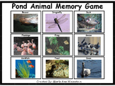 Pond Animal Memory Game