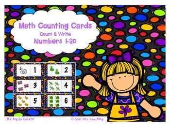 Pond Animal Number Cards {1-20}