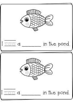 Pond Animal Sight Word Books - ReadyGen Aligned