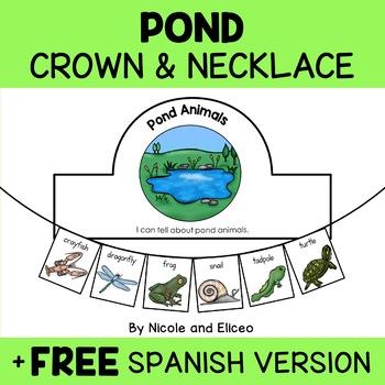 Crown Craft - Pond Animal Activity