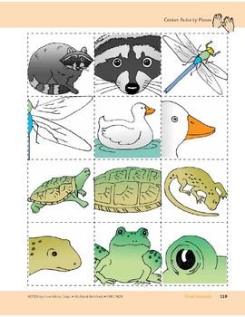 Pond Animals: Center Activity