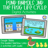 Pond Animals - Frog Life Cycle Digital Activities | Google