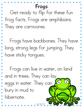Pond Animals Research Reading