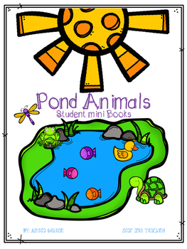 Pond Animals Student Mini Books