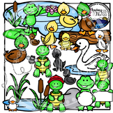 Duck Pond Clipart